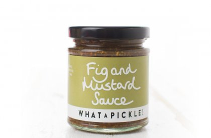 Fig and Mustard Sauce