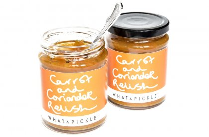 Carrot and Coriander Relish